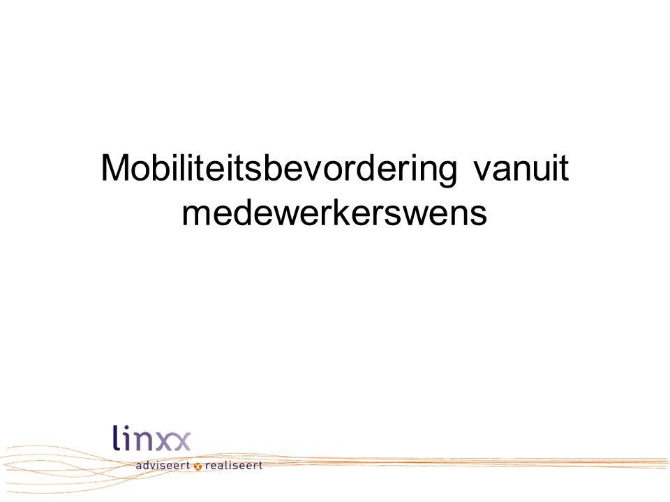 Mobiliteitsbevordering vanuit medewerkerswens