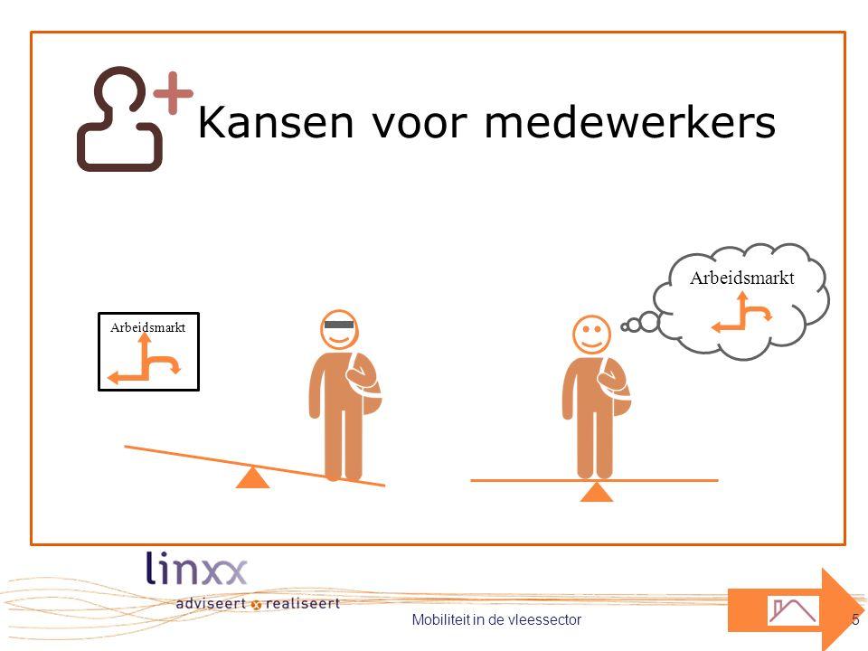 Arbeidsmarkt Kansen voor medewerkers Mobiliteit in de vleessector5