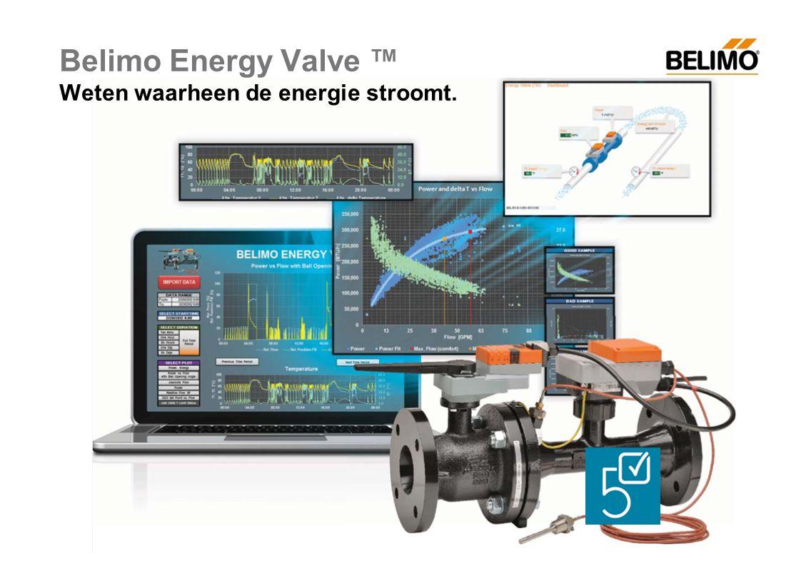 Belimo Energy Valve ™ Weten waarheen de energie stroomt.
