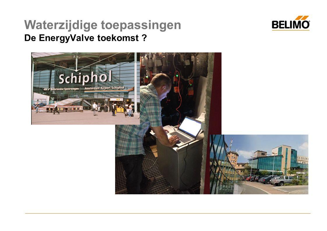 De Energy valve toekomst Waterzijdige toepassingen De EnergyValve toekomst