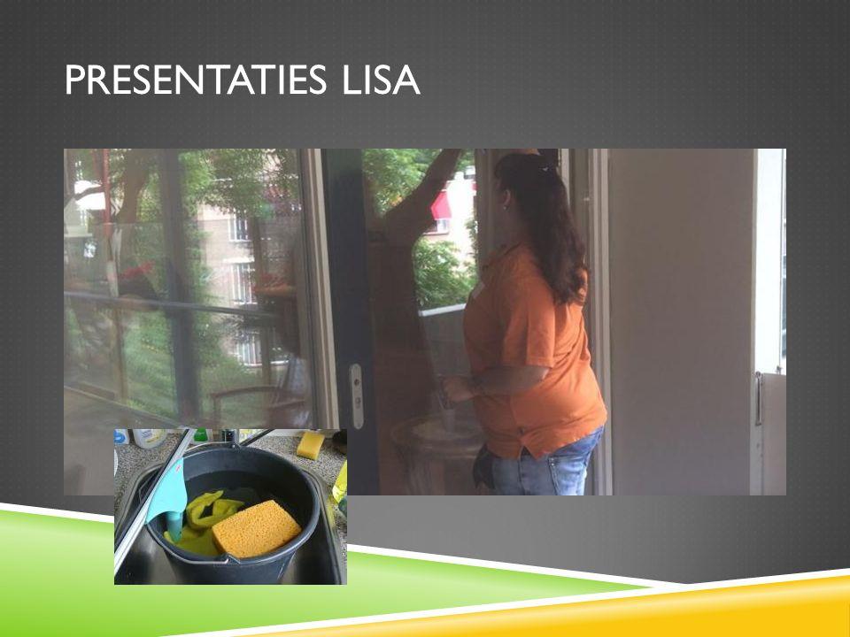 PRESENTATIES LISA