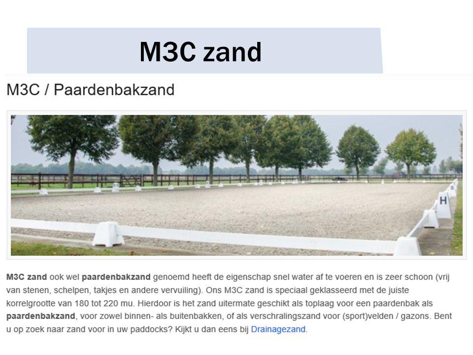 M3C zand