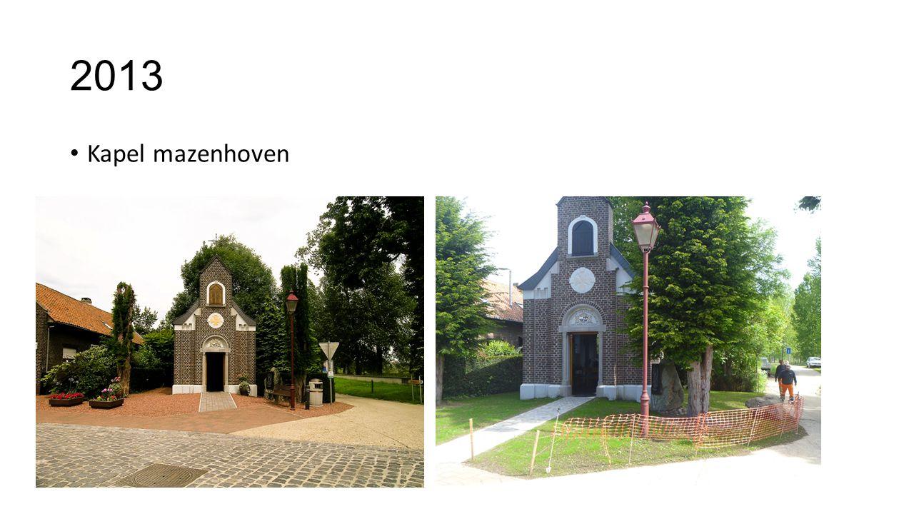 2013 Kapel mazenhoven