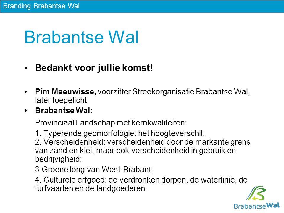 Brabantse Wal Bedankt voor jullie komst.