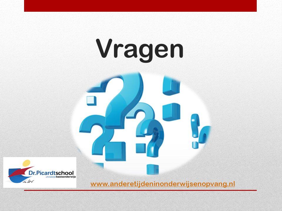 Vragen www.anderetijdeninonderwijsenopvang.nl