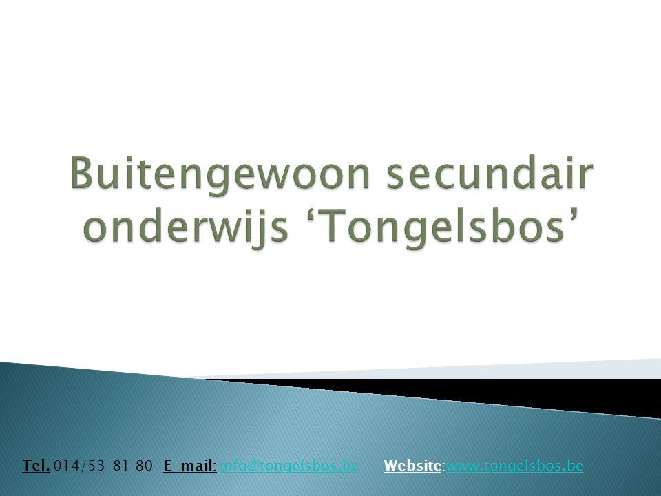 BuSO Tongelsbos Bosstraat 2 2260 Tongerlo – Westerlo Tel.