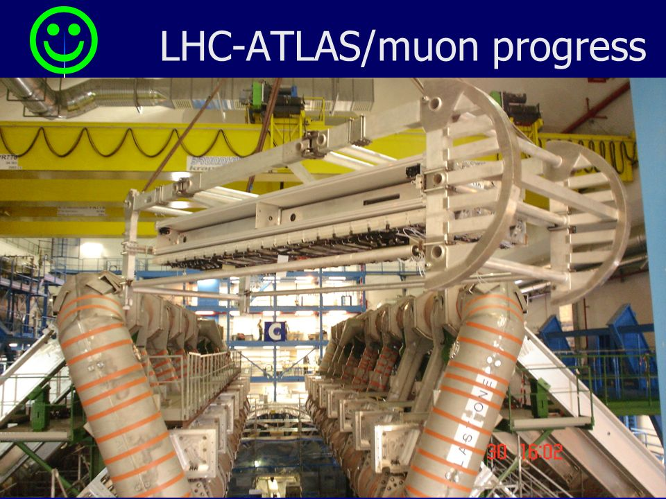 7/18 LHC-ATLAS/muon progress