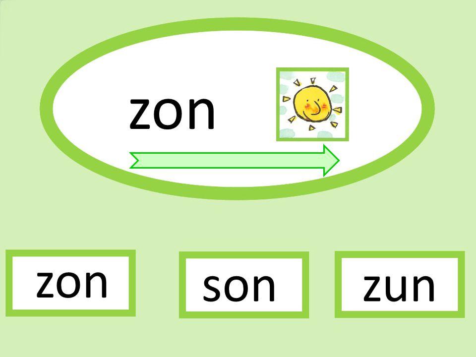 zon zun zon son
