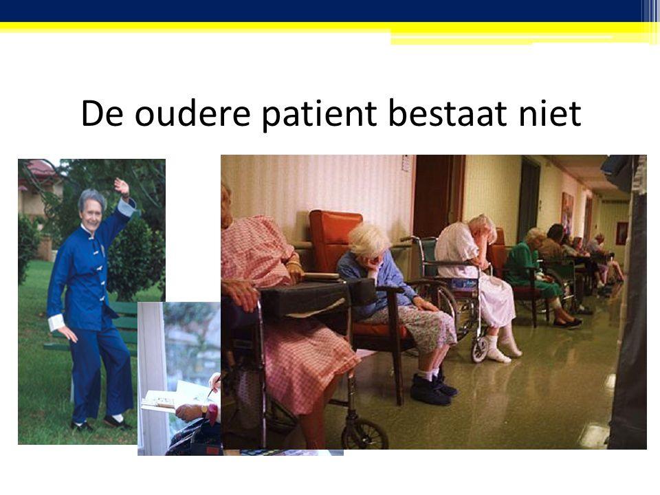De oudere patient bestaat niet