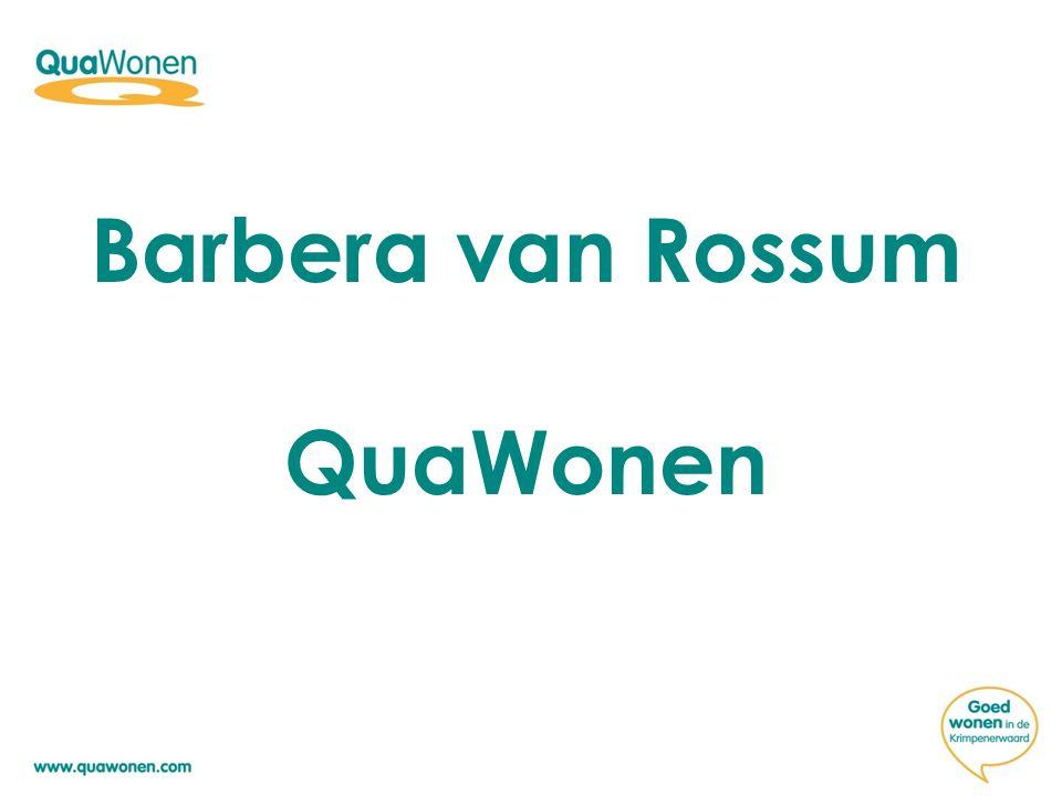 Barbera van Rossum QuaWonen