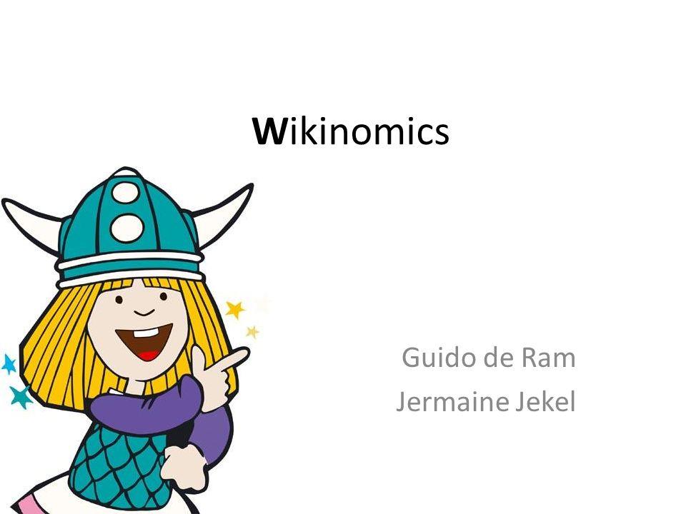 Wikinomics Guido de Ram Jermaine Jekel