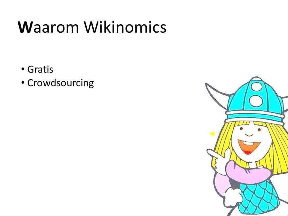Waarom Wikinomics Gratis Crowdsourcing