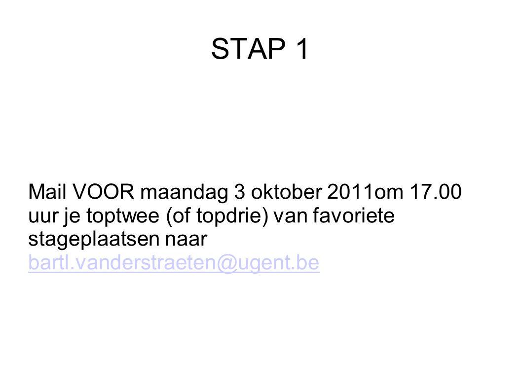 STAP 2 Wacht op antwoord.