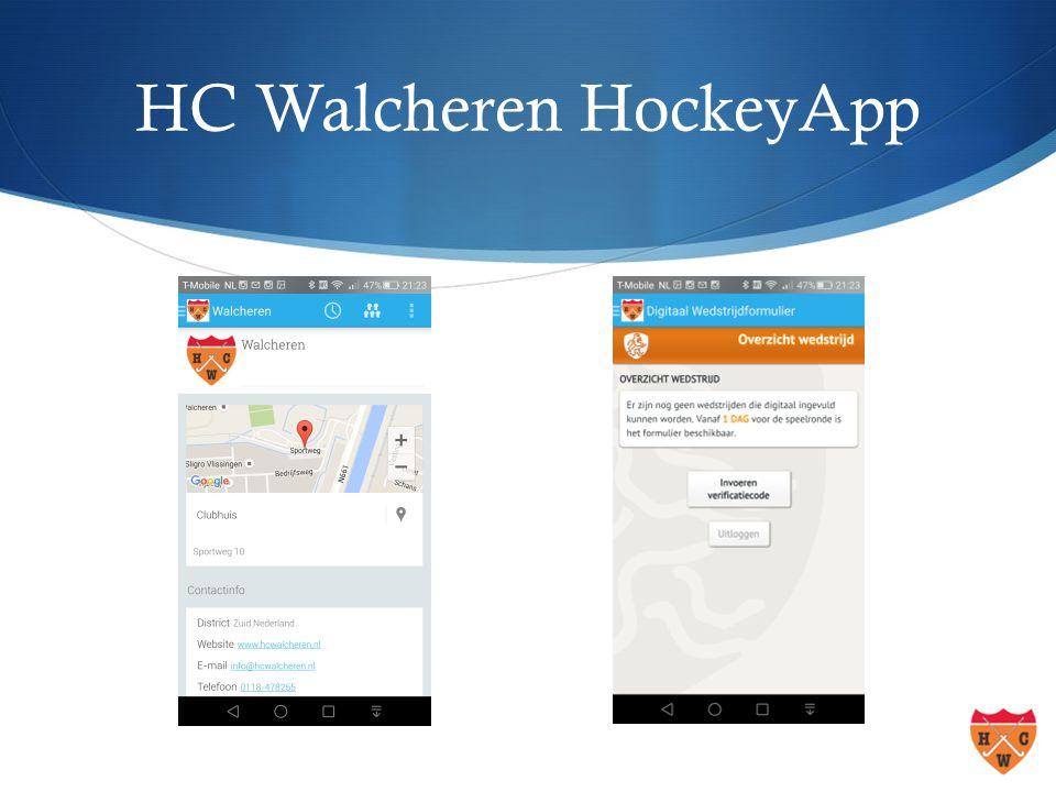 HC Walcheren HockeyApp