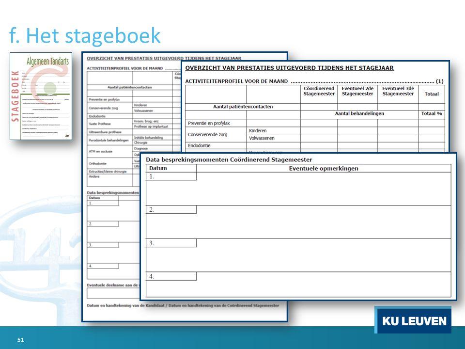f. Het stageboek 51