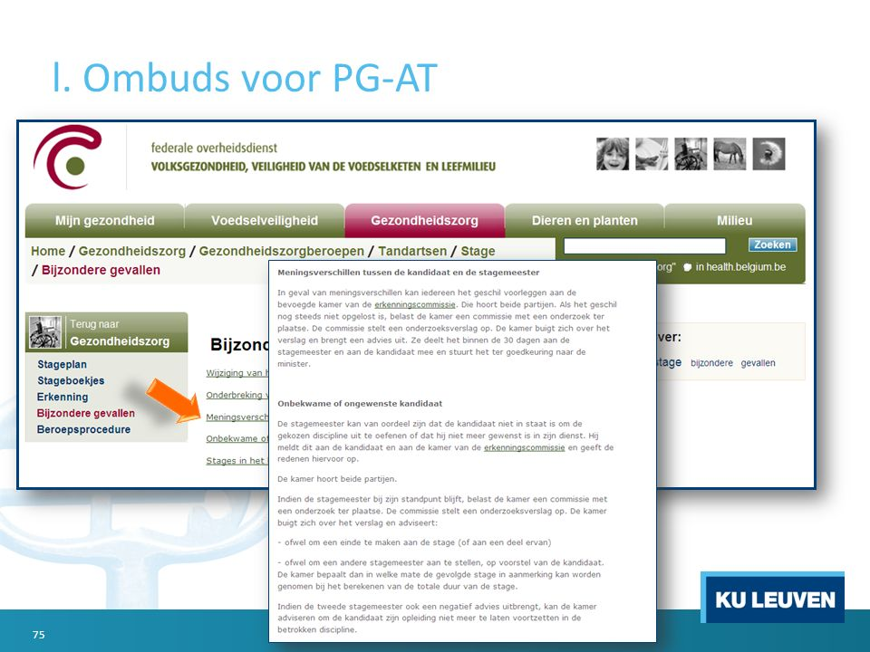 l. Ombuds voor PG-AT 75