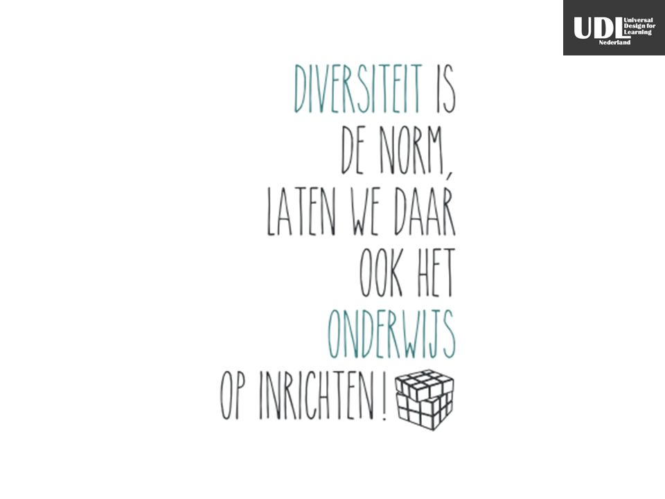 Diversiteit is de norm, laten we daar ook het onderwijs op inrichten!