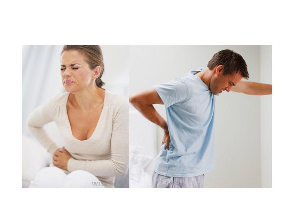 Pyelonefritis: symptomen Klinisch (aspecifiek) – Malaise, koorts, nausea, abdominale pijn, flank-/rugpijn, frequency, dysurie.