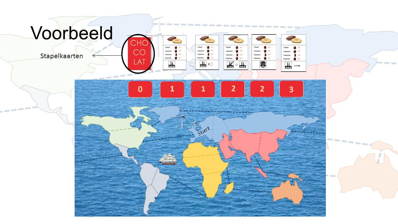 Voorbeeld Stapelkaarten