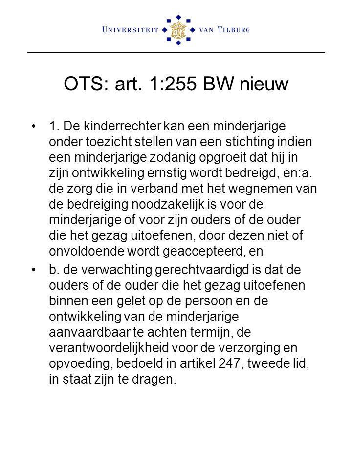 OTS: art. 1:255 BW nieuw 1.