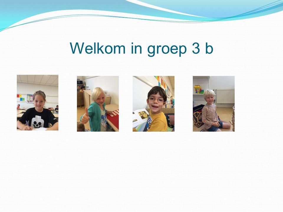 Welkom in groep 3 b
