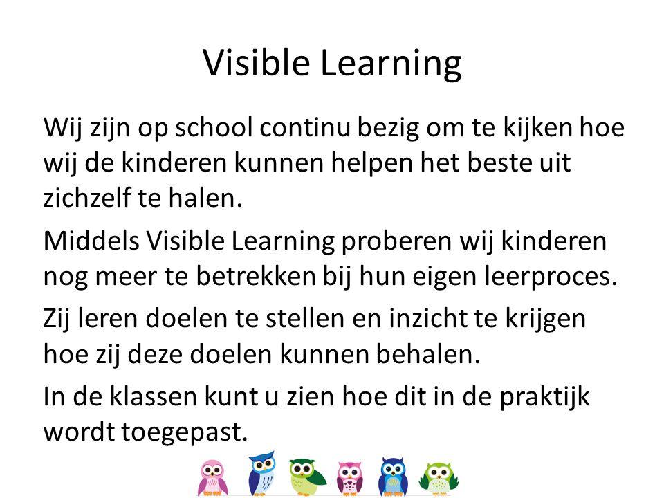 Wij zijn op school continu bezig om te kijken hoe wij de kinderen kunnen helpen het beste uit zichzelf te halen.