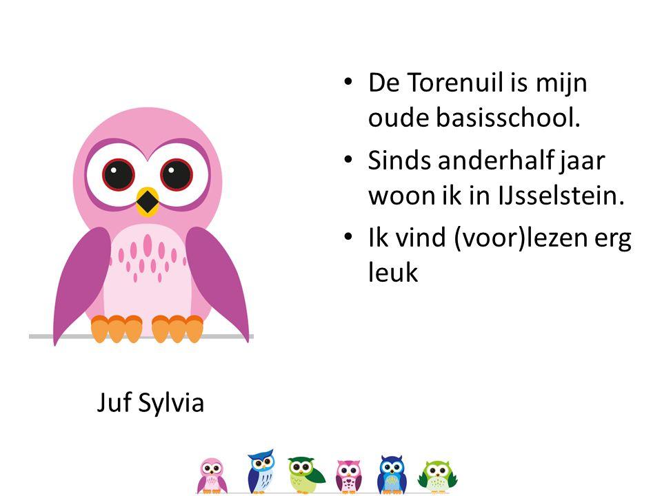 Juf Sylvia De Torenuil is mijn oude basisschool. Sinds anderhalf jaar woon ik in IJsselstein.