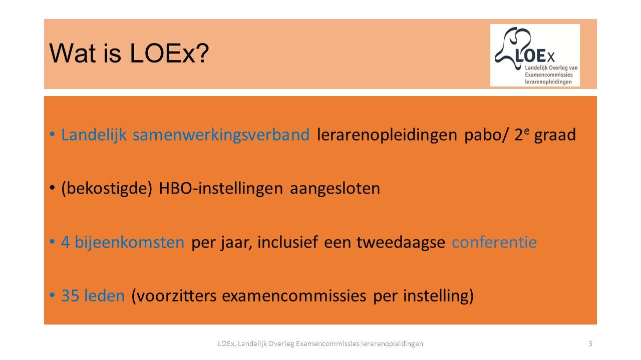 Wat is LOEx.