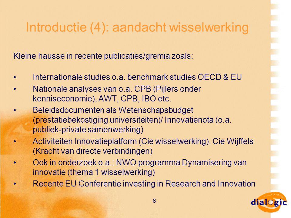 37 Workshop (2) Plenaire terugkoppeling (20 minuten) Plenaire discussie met aandacht voor (25.