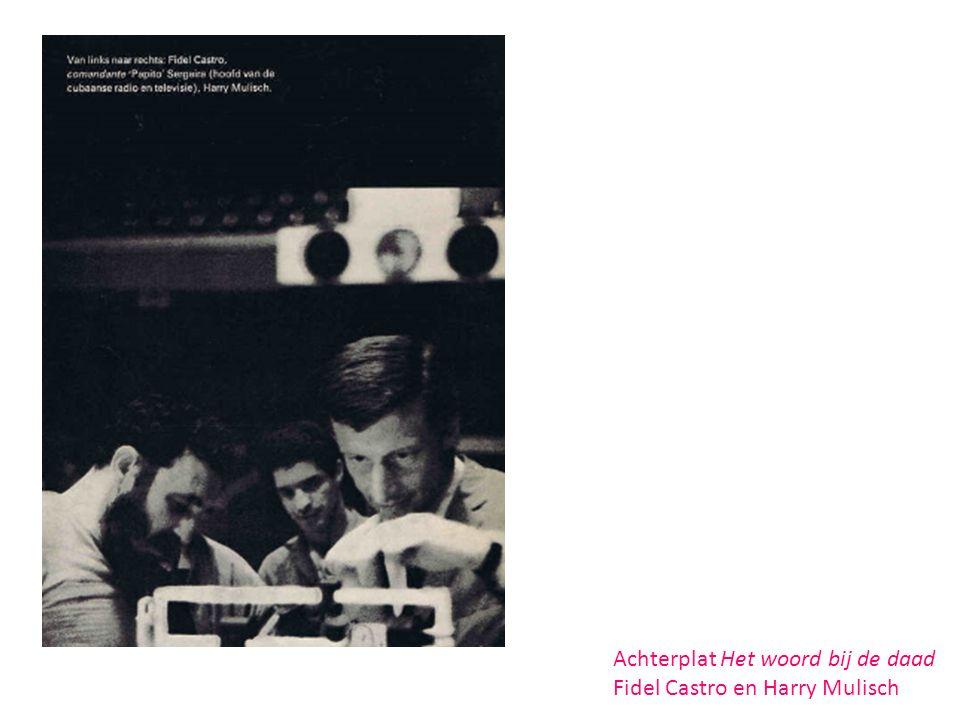 Affiche uit 1967 (spreker: Harry Mulisch!) Bron: het Geheugen van Nederland