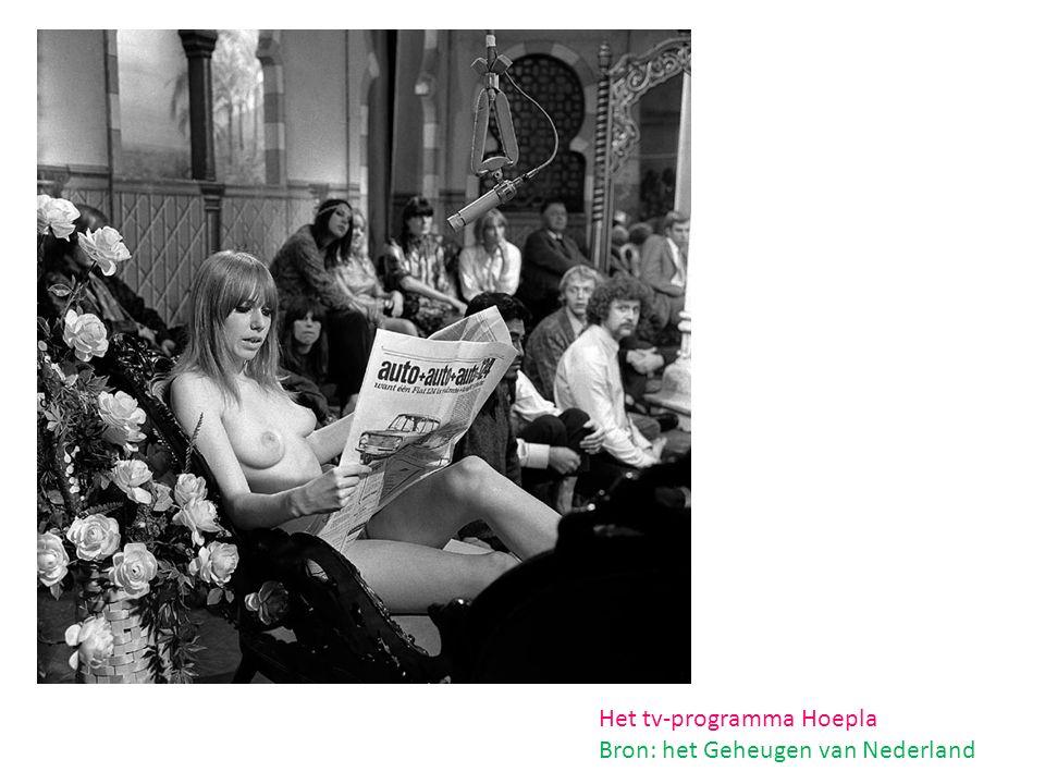 Het tv-programma Hoepla Bron: het Geheugen van Nederland