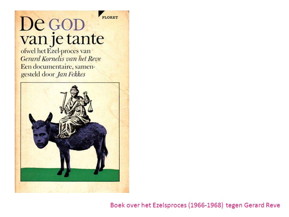 Boek over het Ezelsproces (1966-1968) tegen Gerard Reve