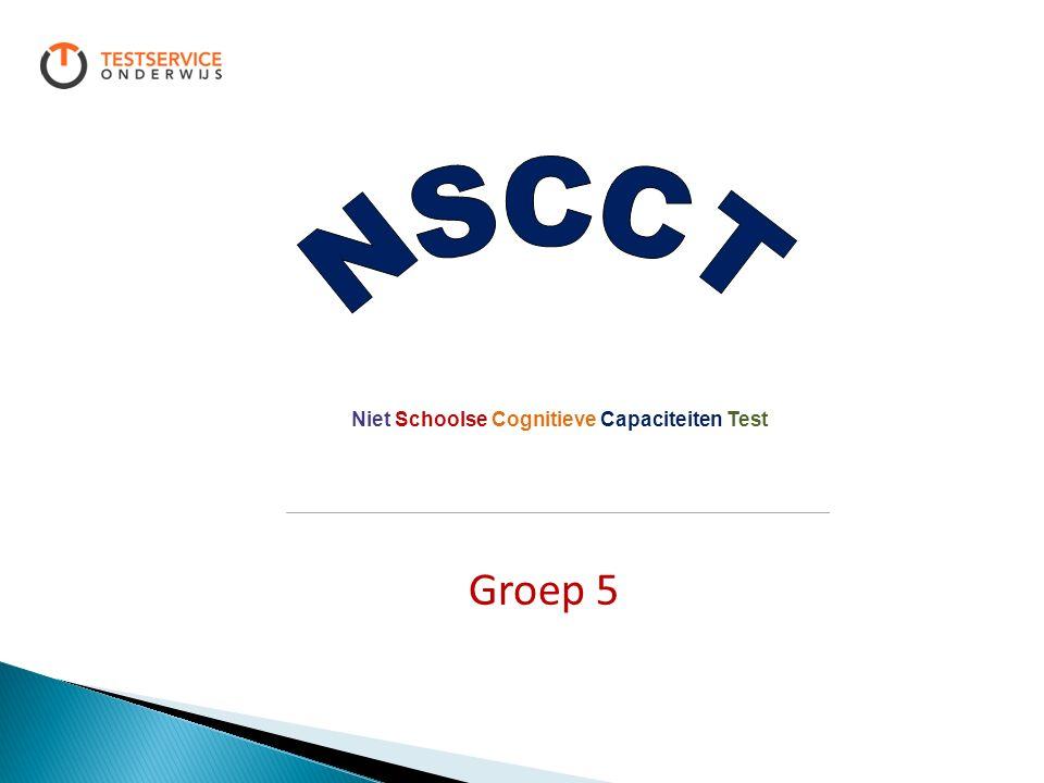 Niet Schoolse Cognitieve Capaciteiten Test Groep 5