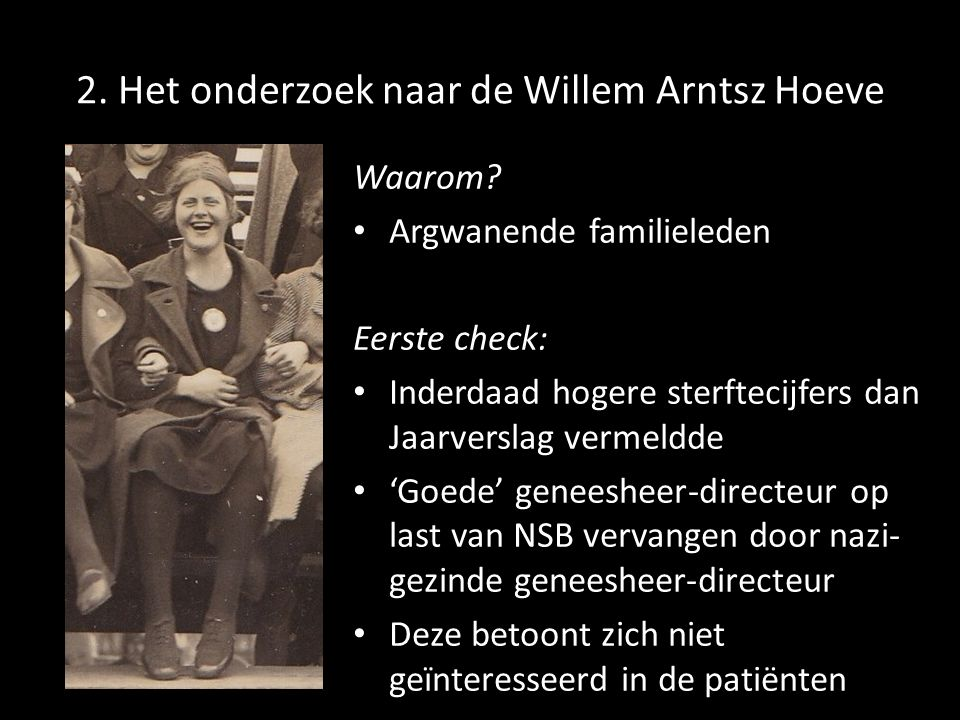 2. Het onderzoek naar de Willem Arntsz Hoeve Waarom.
