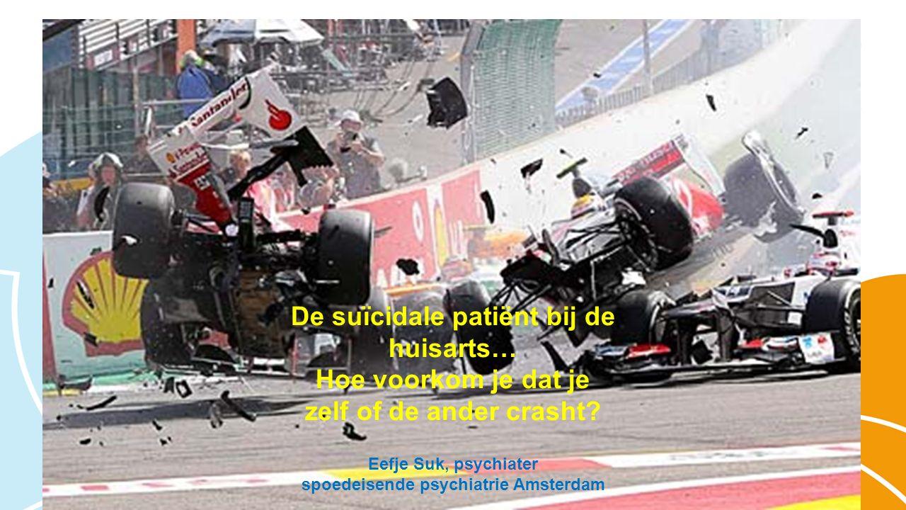 De suïcidale patiënt bij de huisarts… Hoe voorkom je dat je zelf of de ander crasht.