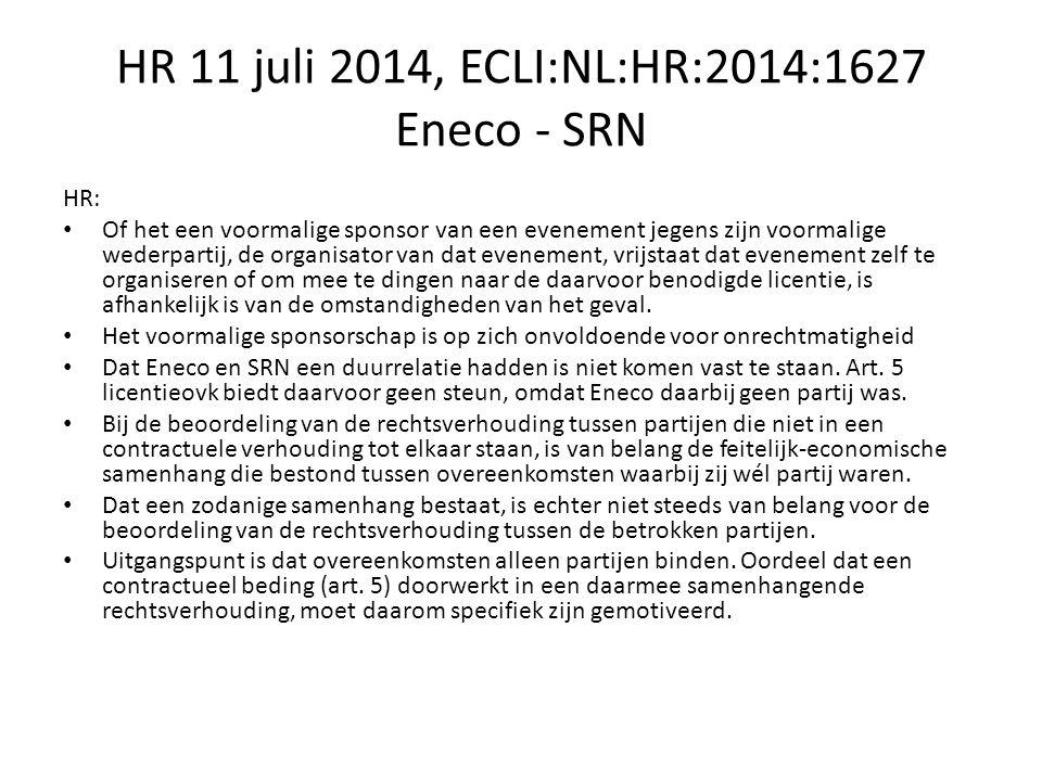 HR 3-10-2014, ECLI:NL:HR:2014:2895 7:658; causaliteit Hoge Raad: Art 6:98 BW van toepassing.