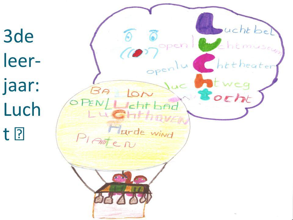 3de leer- jaar: Luch t
