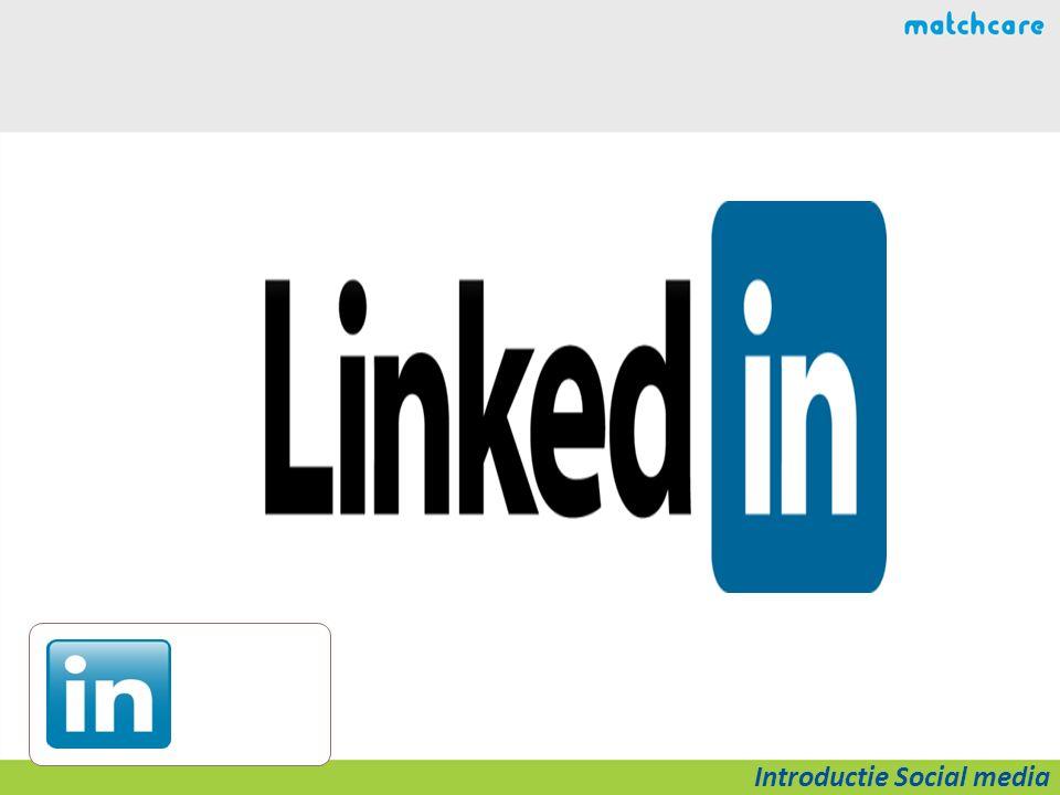 Social Media Landscape Introductie Social media