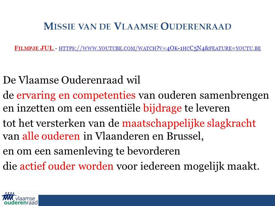 M ISSIE VAN DE V LAAMSE O UDERENRAAD F ILMPJE JUL - HTTPS :// WWW.