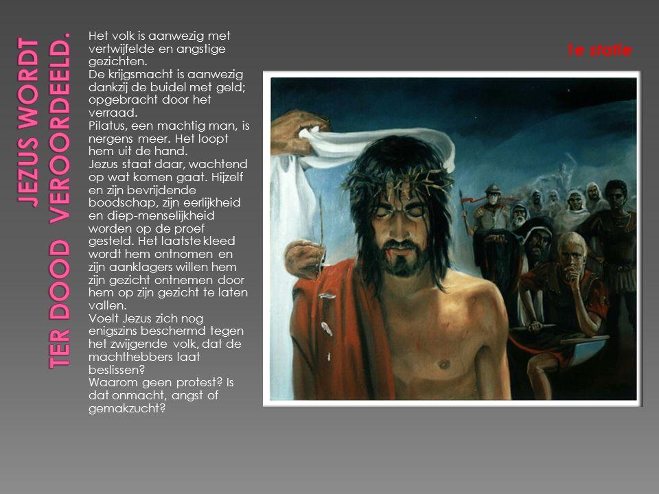 Jezus sterft, overgave aan de dood, aan nieuw LEVEN.