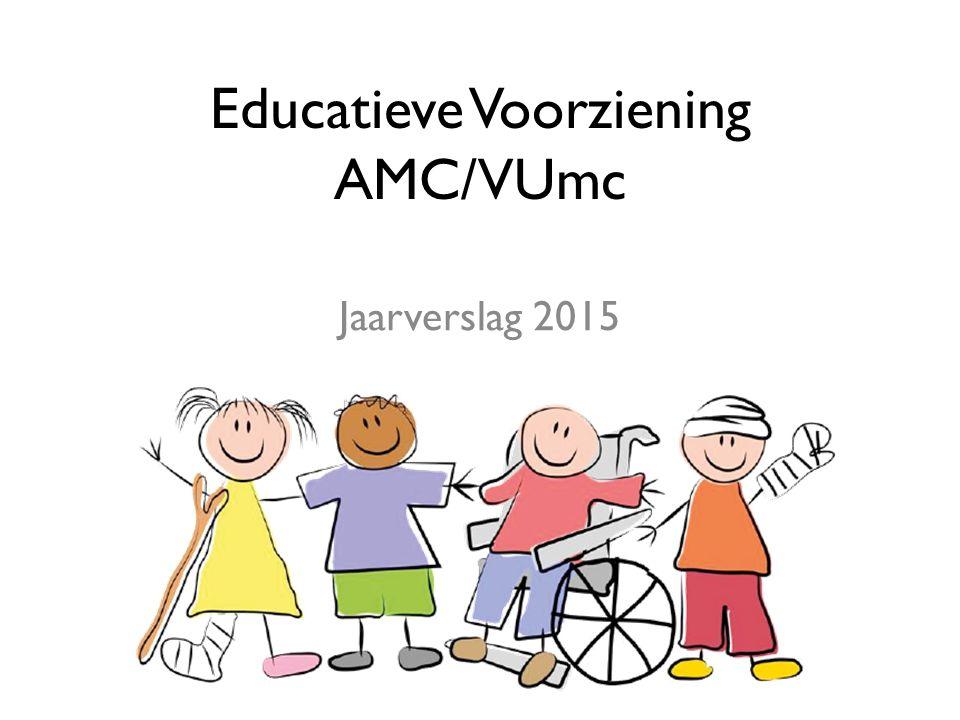 Educatieve Voorziening AMC/VUmc Jaarverslag 2015