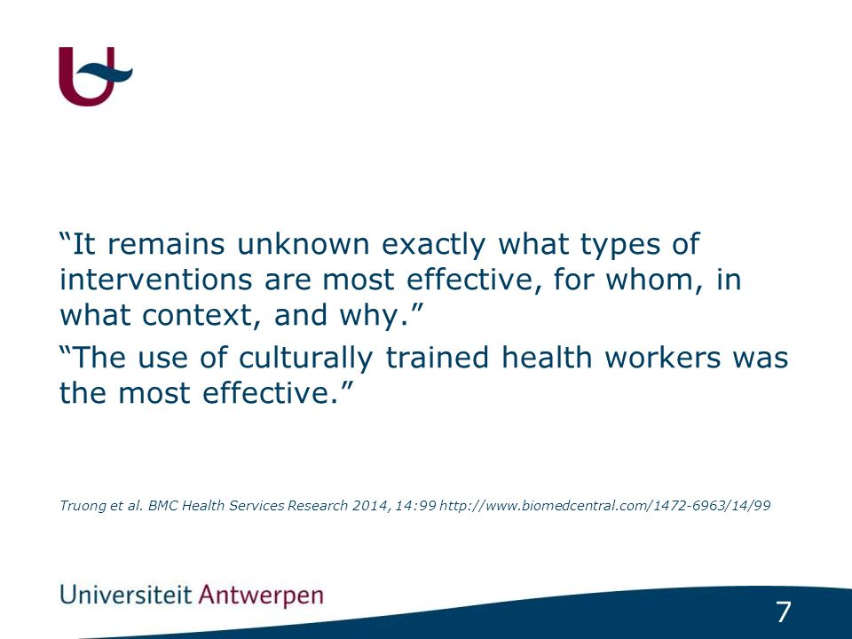 88 Cultureel competente hulpverlener Generieke competenties Contextgericht werken = Context gericht werken is ernaar streven dat de context van de patiënt ondersteunend kan werken voor zijn gezondheid en welzijn.