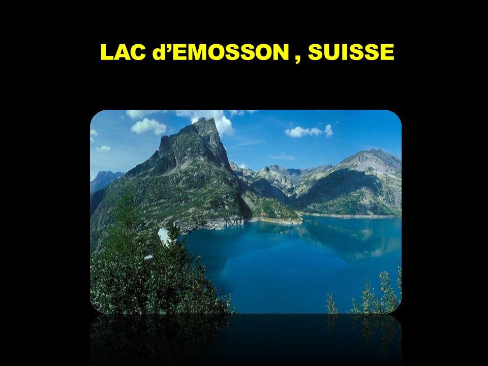 LAC d'EMOSSON, SUISSE