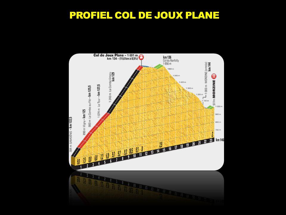 PROFIEL COL DE JOUX PLANE