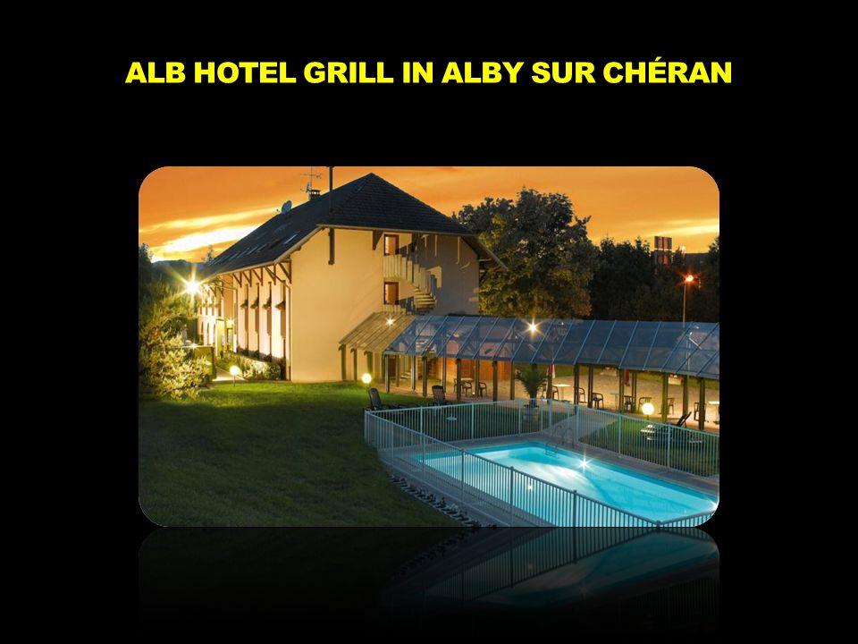 ALB HOTEL GRILL IN ALBY SUR CHÉRAN