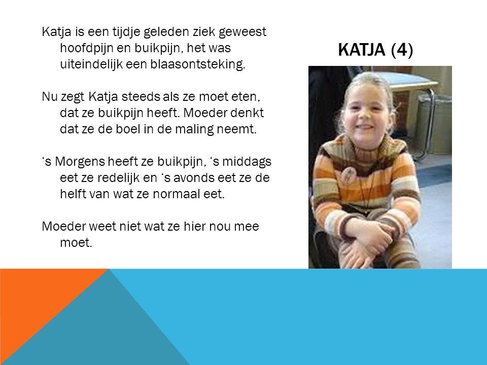 MAARTEN (8) Tijdens de vakantie liep alles nog goed, maar sinds september klaagt Maarten vaak over buikpijn.