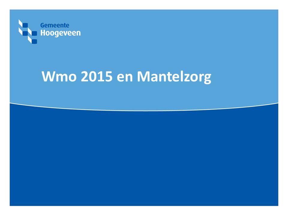 Wmo 2015 en Mantelzorg