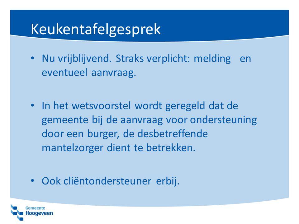 Zorgzwaartepakketten Rijk: Voor zowel de cliënten met een ZZP VV4 (2016) als cliënten met een ZZP VG3 (2015) geldt dat de aanwezigheid van een stabiele steunstructuur essentieel is om langer thuis te kunnen blijven.
