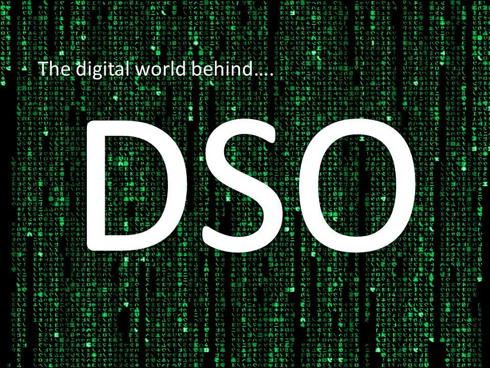 The digital world behind….