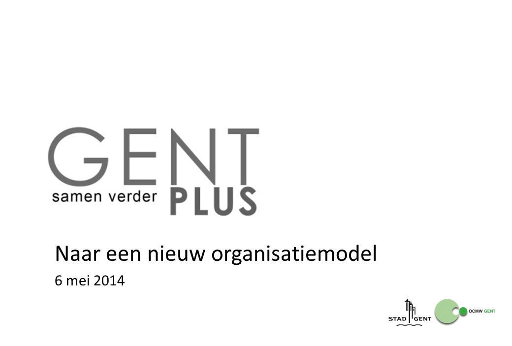 Naar een nieuw organisatiemodel 6 mei 2014
